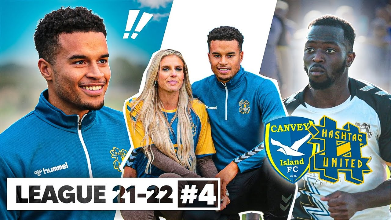 PlayTube Sports: LOOK WHO'S BACK!! - CANVEY ISLAND vs HASHTAG UNITED