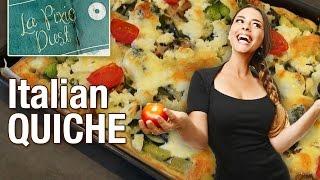 Italian Vegetable Quiche Recipe And The Broccoli Challenge
