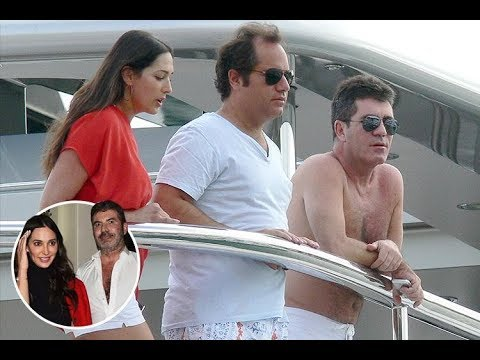 Simon Cowell is friends again with girlfriend Lauren Silverman's ex husband and his