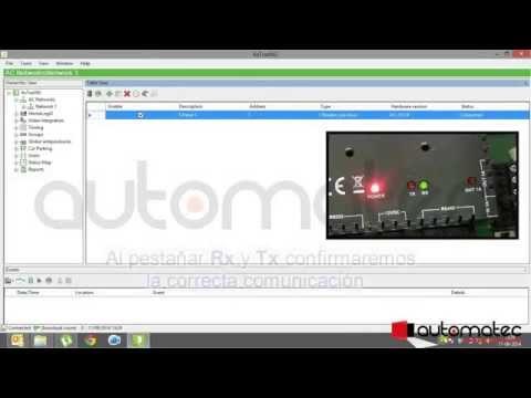 Programación AxtraxNG Rosslare parte 1 (ESPAÑOL)