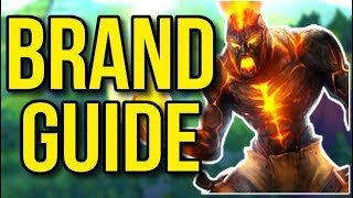 Brand Challenger Champion Guide | How to Play Brand Support - League of Legends