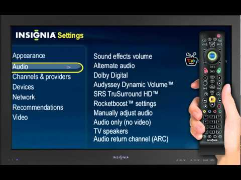 Audio Setup Guide | Insignia Connected TV