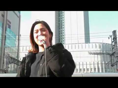 acane「大阪LOVER」を歌ってみた 大阪梅田路上ライブ