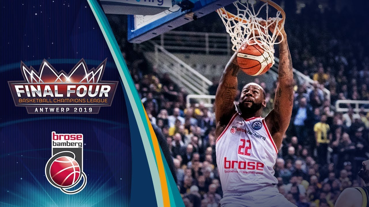 Top 10 Plays by Brose Bamberg - Basketball Champions League 2018