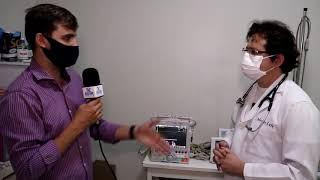 ALTO SANTO Diretor Clínico do Hospital e Maternidade Santa Rita, Dr Márcio Luiz fala sobre equipamen