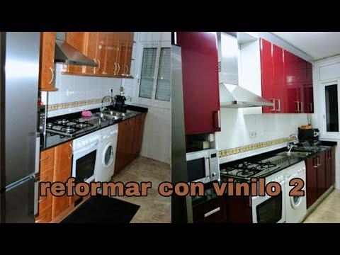 Cómo poner vinilo para renovar los muebles de la cocina 2 - YouTube