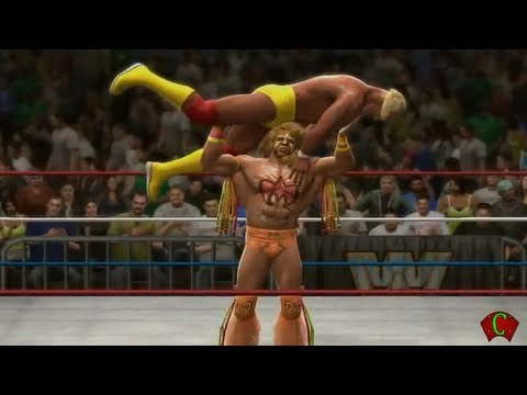 WWE 2K14 Ultimate Warrior Gameplay Entrance and Finisher 【HD】