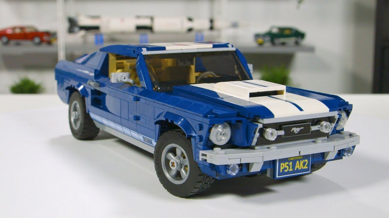 LEGO Ford Mustang GT 2019 Designer Review Video! Full LEGO Set 10265 Unboxing and Review