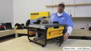 Dewalt Dw745 Table Saw With 16-inch Max Rip Capacity Comparisons
