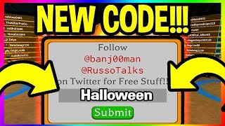 NEW CODE IN PUMPKIN CARVING SIMULATOR Roblox Codes