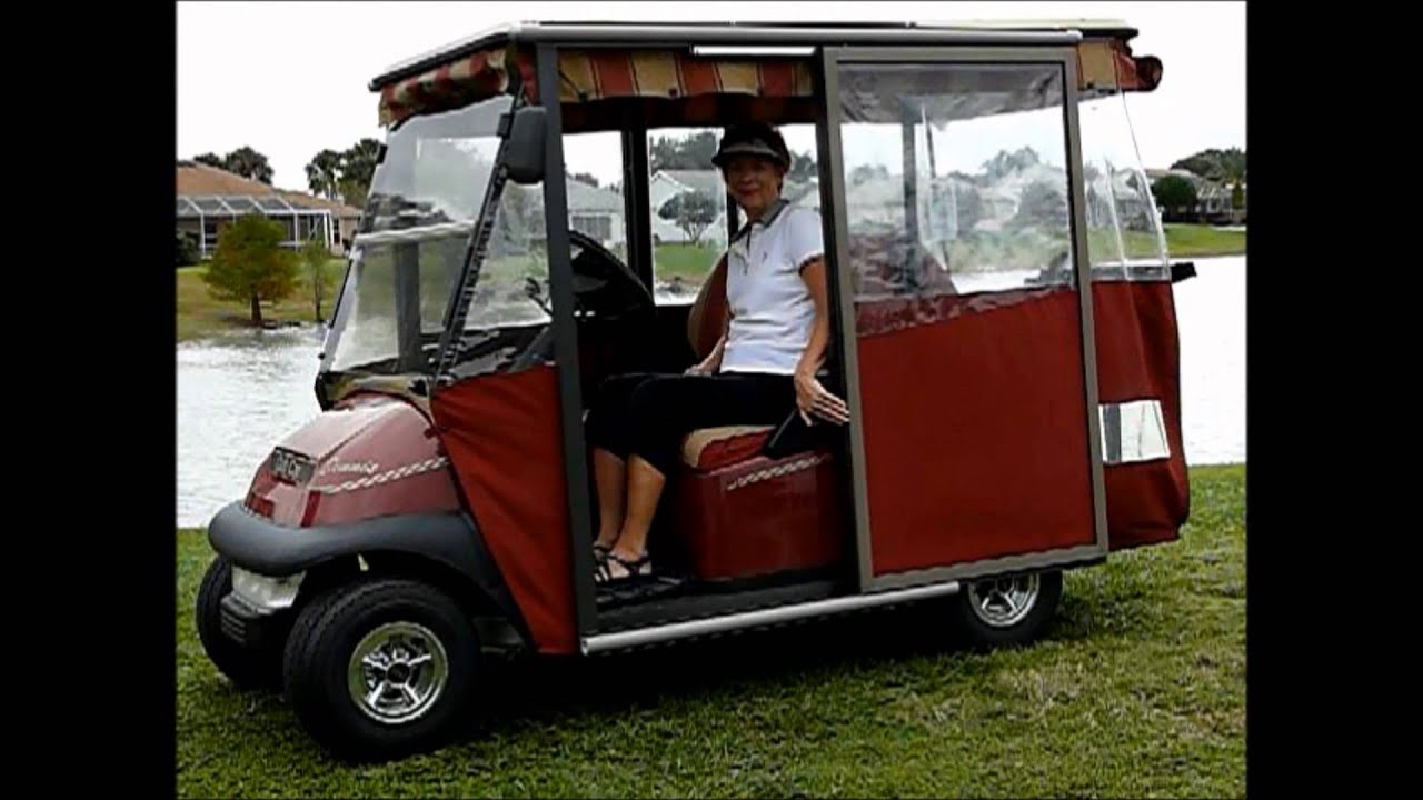 & SLIDING GOLF CART DOORS - YouTube