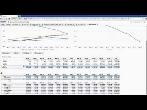 Upstream Oil and Gas Financial Planning Demo