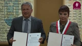 Tema:Firma de Convenio entre la UNMSM y la Universidad Técnica de Machala