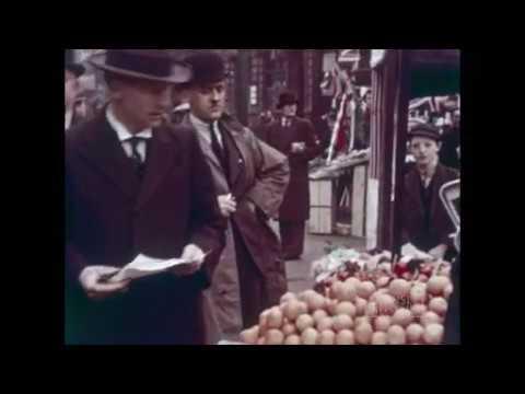 Barnsley Market in 1937