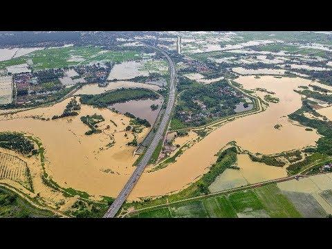 Penang floods: Sungai Muda overflows