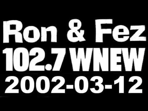 Ron & Fez WNEW 2002-03-12