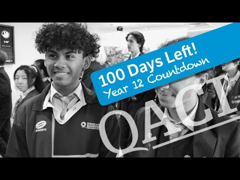Principal Blog: 100 Days Left Of Year 12!