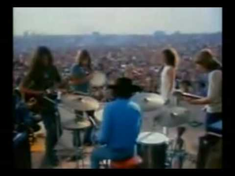 Jefferson Airplane -Somebody to love , White rabbit (live at Woodstock)