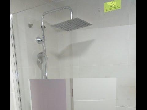 Instalar una mampara de ducha bricocrack doovi - Instalar una mampara de ducha ...