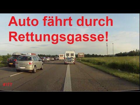 Vom Rettungsgassenmissbrauch, bei Gegenverkehr überholen und Rasern| DDG Dashcam Germany | #177