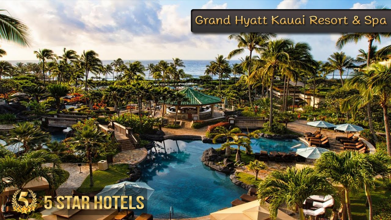 5 Star Grand Hyatt Kauai Resort Spa Hotels In Hawaii Beach USA Review