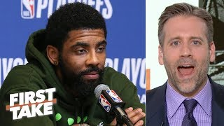 Kyrie 'blew it' vs. the Bucks and was a bad leader for the Celtics - Max Kellerman | First Take