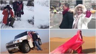 Ini Kumpulan Video Plesiran Bos First Travel dari Gunung Es Hingga Gurun Pasir