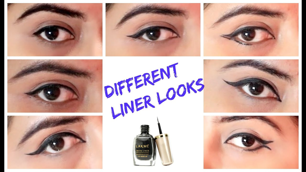 How to make Different Eyeliner Looks for Hooded Eyes  Tips & Tricks for  Long lasting  Lakme