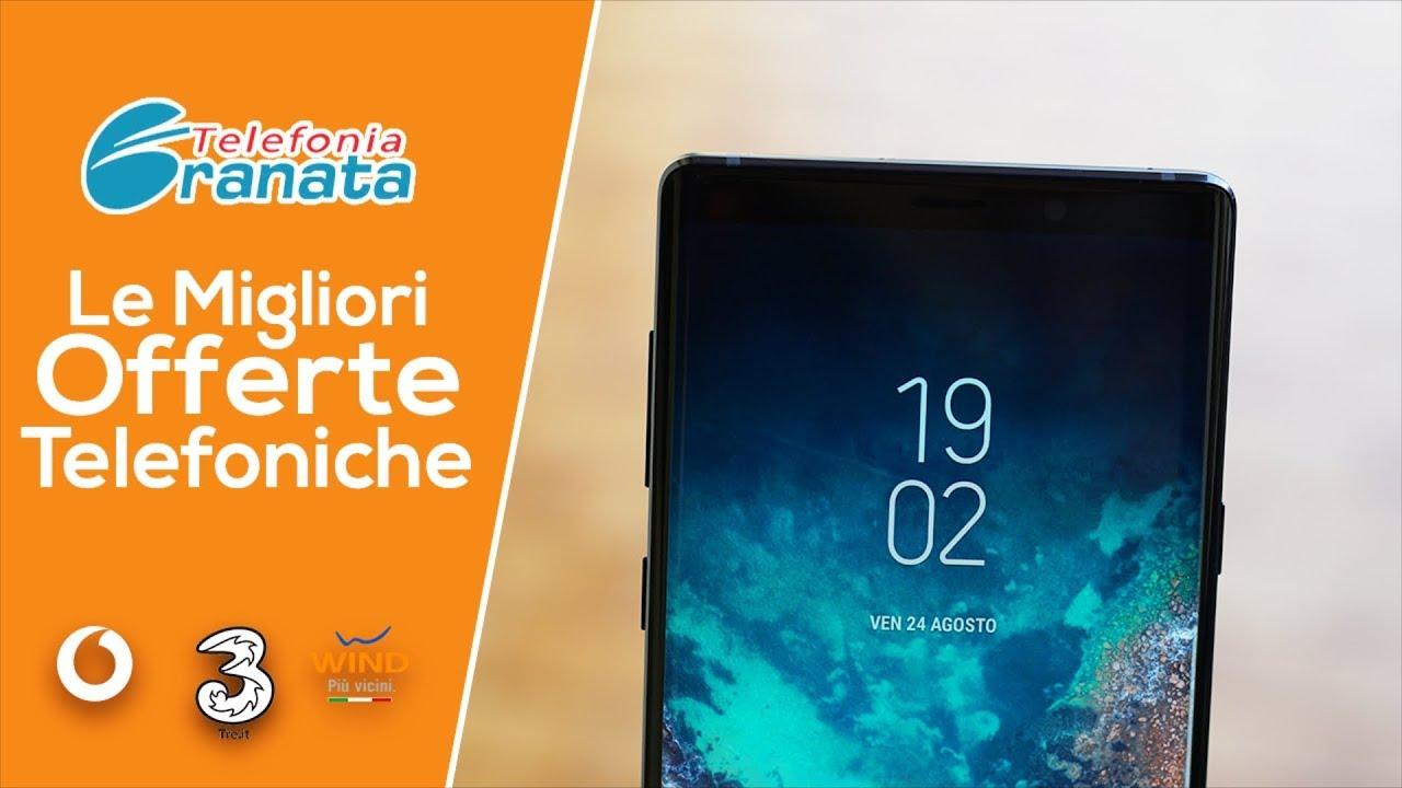 MIGLIORI OFFERTE TELEFONICHE!! Vodafone, Wind e Tre! - YouTube