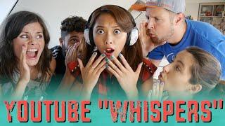 Welcher Youtuber hat mit wem was?! YOUTUBE WHISPERS Challenge mit BullshitTV Joyce Ooobacht