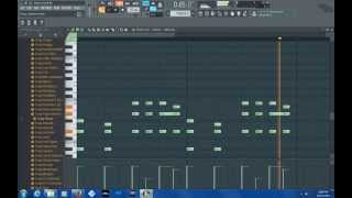 Drake - Back To Back FL Studio Tutorial Instrumental FLP