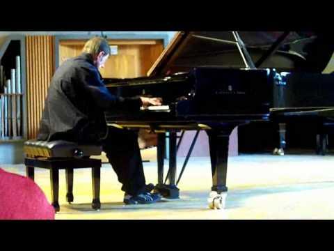 Maurizio Zana plays Liszt at Brescia conservatorio Luca Marenzio (16.5.2009)