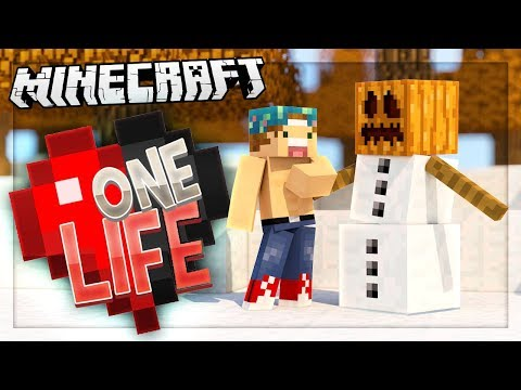 PUMPKIN THE SNOW GOLEM! | One Life SMP #44