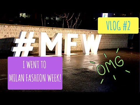 MILAN FASHION WEEK VLOG || ItsJadaSasha