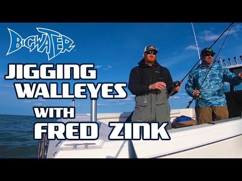 Lake Erie Walleye Fishing - Jigging With Fred Zink