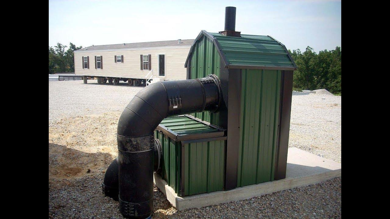 Waterless Forced-Air Wood Furnace