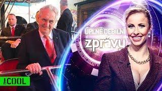 Strašidelná jízda s Milošem Zemanem – Úplně debilní zprávy Prima COOL (3.4.2019)
