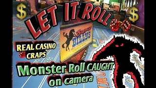 Real Live Casino Craps - Long Monster 40 Roll! From Bronco Billy's Hotel and Casino