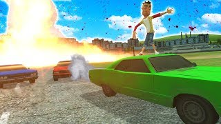 Race against a FIRE TORNADO DISASTER in Garry's Mod! (Gmod Gameplay & Garry's Mod Roleplay)