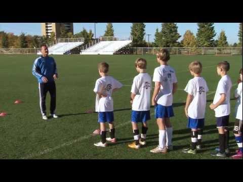 Soccer Training  Warm Up Drills 1