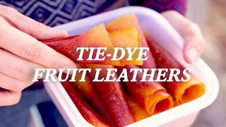 How to Make Tie-Dye Fruit Leathers - REI Camping Recipes
