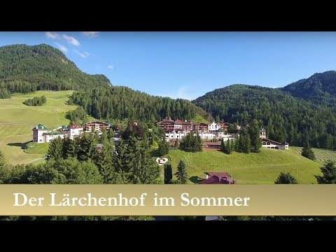 Der Lärchenhof im Sommer