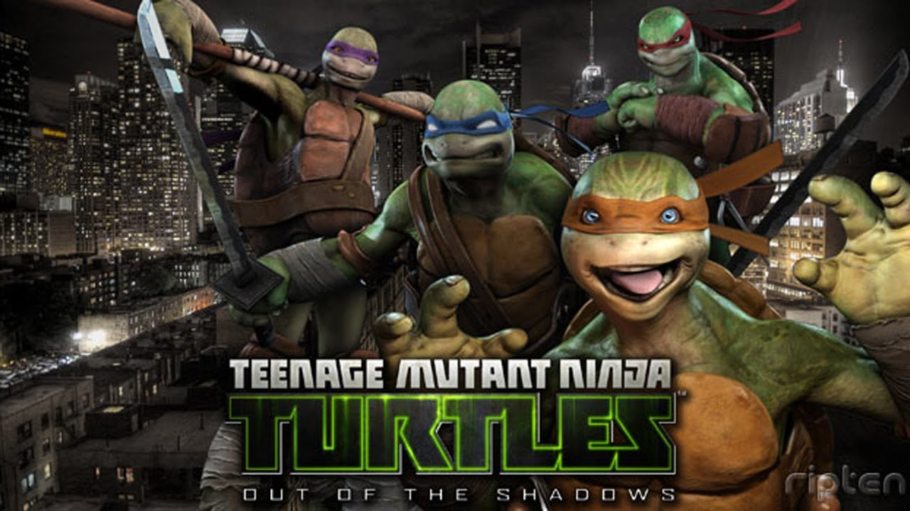 видео игры tmnt out of the shadows