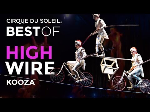 High Wire Act from Kooza | Best of Cirque du Soleil