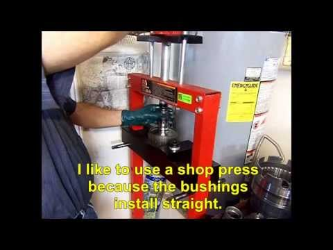 4L60E Transmission Bushing Installation Video - Transmission Repair