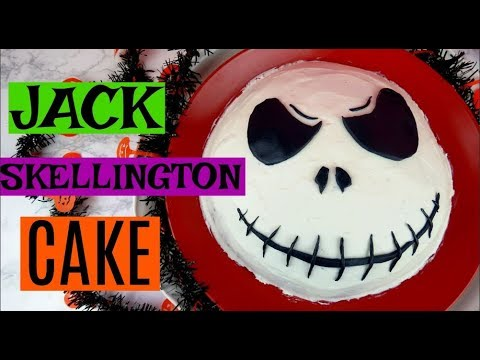 Youtube How To Make A Jack Nightmare Before Christmas Cake