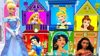 Cinderella Disney Princesses Classic Dress Up Matching Dollhouse Cosplay Best Learn Characters Name