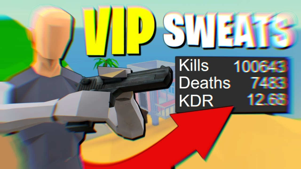 My VIP SERVER Is FULL OF SWEATS... (Strucid Roblox) - YouTube