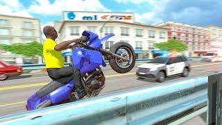 Bike Racing Games - City Traffic Moto Rider - Gameplay Android free games