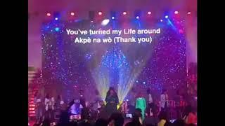 celestine-donkor-performs-agbebolo-with-nhyiraba-gideon
